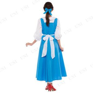 90f870d365276 美女と野獣ベルのドレス大人用コスプレ衣装!ドレスや町娘衣装も